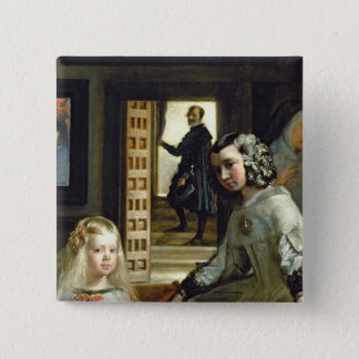 Las Meninas or The Family of Philip IV, c.1656 2 Pinback Button