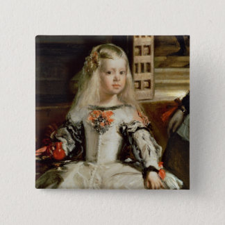 Las Meninas or The Family of Philip IV, c.1656 Button