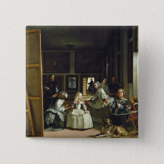 Las Meninas or The Family of Philip IV, c.1656 Button