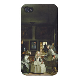 Las Meninas or The Family of Philip IV, c.1656 Case For iPhone 4