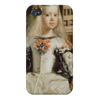 Las Meninas or The Family of Philip IV, c.1656 Cases For iPhone 4