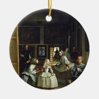 Las Meninas or The Family of Philip IV, c.1656 Ceramic Ornament