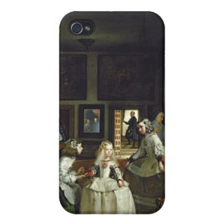 Las Meninas or The Family of Philip IV, c.1656 iPhone 4 Covers