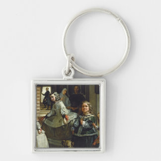 Las Meninas or The Family of Philip IV, c.1656 Keychain