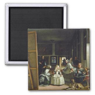 Las Meninas or The Family of Philip IV, c.1656 Magnet