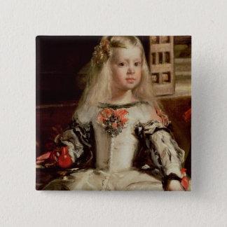Las Meninas or The Family of Philip IV, c.1656 Pinback Button