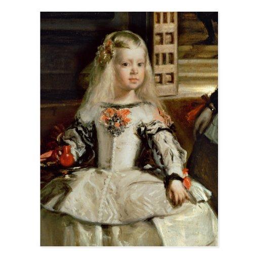 Las Meninas or The Family of Philip IV, c.1656 Postcard