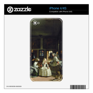 Las Meninas or The Family of Philip IV, c.1656 Skins For iPhone 4S
