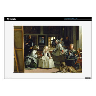 Las Meninas or The Family of Philip IV, c.1656 Skins For Laptops