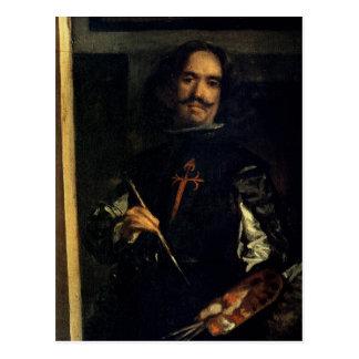 Las Meninas or The Family of Philip IV Postcard