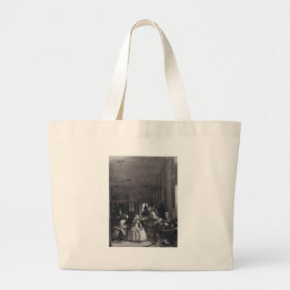 """Las Meninas."" por Velázquez Bolsa De Tela Grande"
