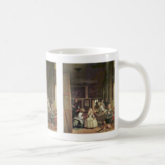 Las Meninas (Self Portrait With The Royal Family) Coffee Mug