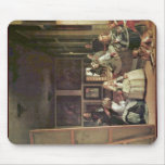 Las Meninas (Self Portrait With The Royal Family) Mouse Pad