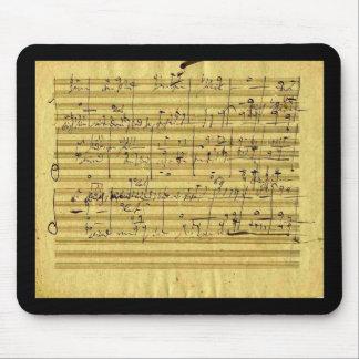 """Las """"Mesías"""" de Handel en la mano de Beethoven Tapete De Ratón"""