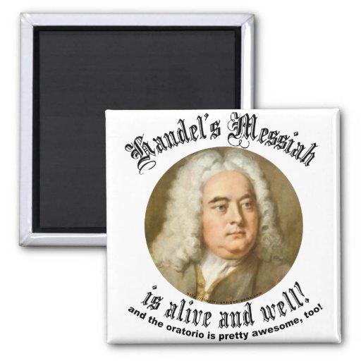 Las Mesías de Handel Imán Cuadrado