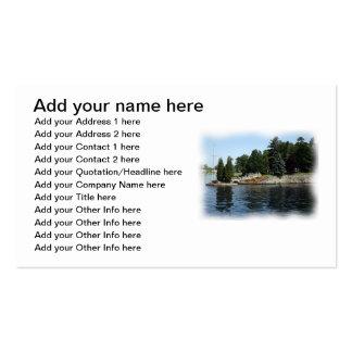Las mil islas #1 tarjetas de visita