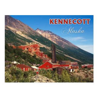 Las minas de cobre históricas de Kennecott, AK Postales