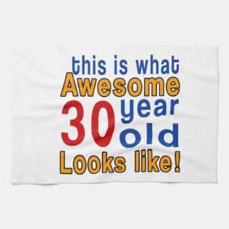 las miradas 30 años tienen gusto toallas de cocina