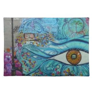 Las miradas del ojo - manteles