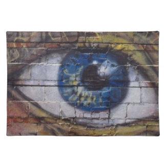 Las miradas del ojo - manteles individuales