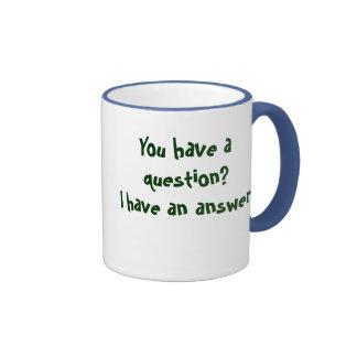 Las miradas mudas liberan tazas de café