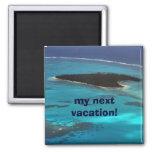 ¡las mis vacaciones próximas! imanes para frigoríficos