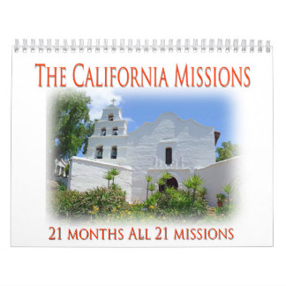 Las misiones de California Calendarios De Pared