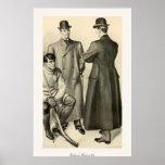 Las modas 1905 de los caballeros poster