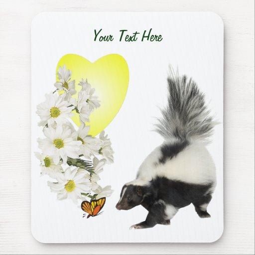 Las mofetas necesitan hora de oler las flores tamb alfombrillas de ratones