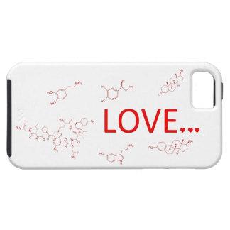 Las moléculas del amor… iPhone 5 funda