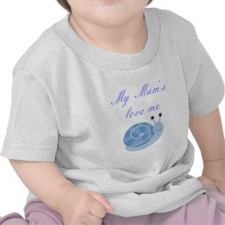 las momias me aman muchacho. ropa camisetas