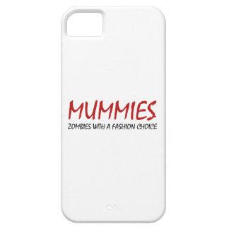 Las momias son zombis con una opción de la moda iPhone 5 funda