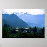 Las montañas de los Andes en Chile Posters