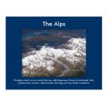 Las montañas del espacio tarjeta postal