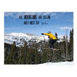 Las montañas están llamando… postales