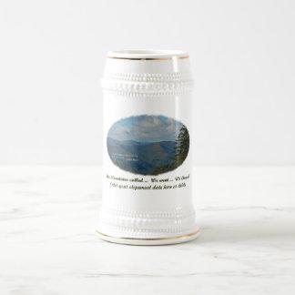 ¡Las montañas llamadas/nosotros fueron/nosotros Tazas De Café