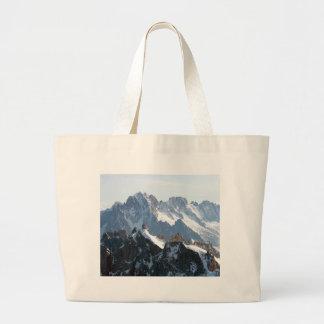 ¡Las montañas - magníficas! Bolsa Tela Grande