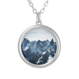 ¡Las montañas - magníficas! Colgante Redondo