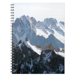 ¡Las montañas - magníficas! Libros De Apuntes Con Espiral