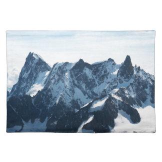 ¡Las montañas - magníficas! Mantel Individual