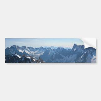 ¡Las montañas - magníficas! Pegatina Para Auto