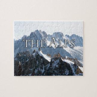 ¡Las montañas - magníficas! Puzzle Con Fotos