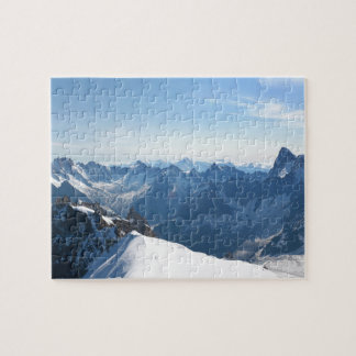 ¡Las montañas - magníficas! Rompecabeza Con Fotos