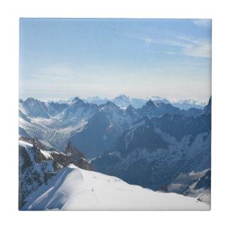 ¡Las montañas - magníficas! Teja