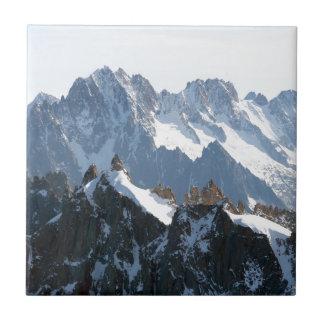 ¡Las montañas - magníficas! Tejas