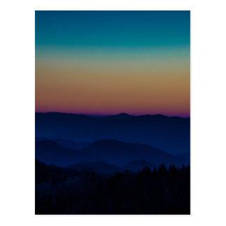 Las montañas me están llamando postal