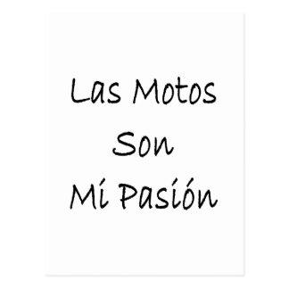 las motos son mi pasion postcards