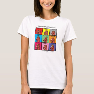 Las muchas caras de la camiseta de la yegua