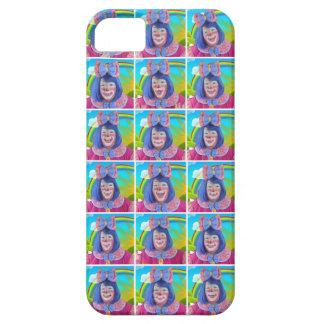 Las muchas caras del flor de la risita iPhone 5 cobertura
