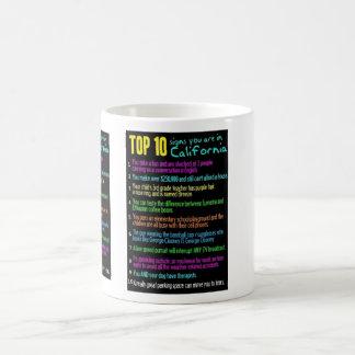 Las muestras del top 10 usted está en Califorina Taza De Café